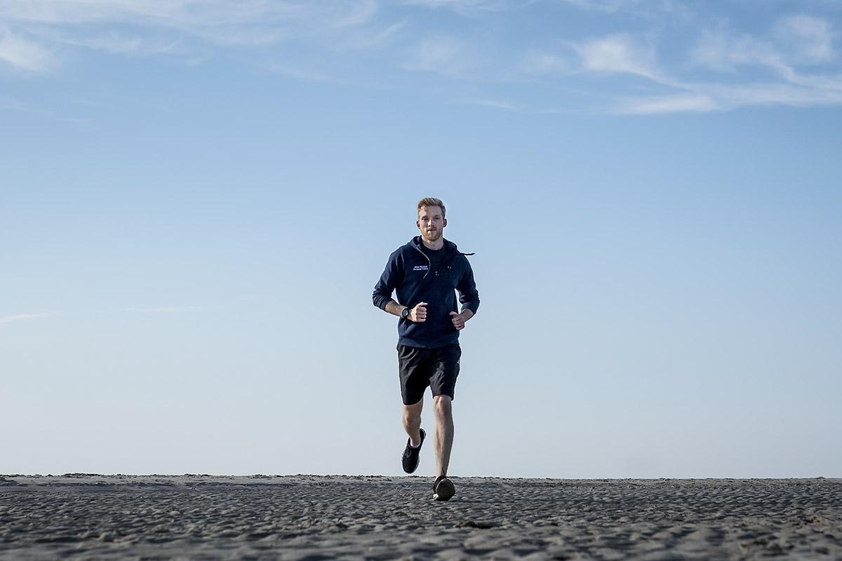 Sport am Sandstrand von SPO